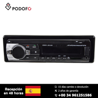 Podofo Car radio 1 Din Stereo Remote Control Digital Bluetooth Audio Music 12V Mp3 Player USB/SD/AUX IN