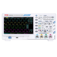 UNI-T UPO2074CS Digital Phosphor Oscilloscope 4 Channels 70MHz Bandwidth 1GS/s 8 Inches TFT LCD USB LAN Interface siglent 28m deep memory sds2074 super phosphor oscilloscope 70mhz portable oscilloscope 4 channels oscilloscope