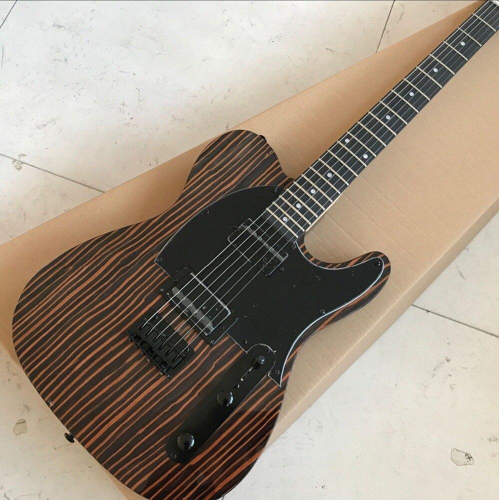 custom shop,TELE 6 Strings Ebony fingerboard Electric Guitar,telecaster gitaar relics by hands guitarra.real photos show