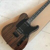 Custom shop, TELE 6 струн эбеновый гриф электрогитара, telecaster gitaar реликвии руками гитары ra. реальные фотографии показать