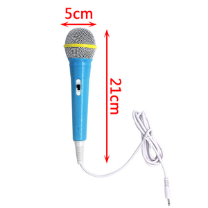 Image 5 - Kids Boy Girl Christmas Gift Wired Microphone Musical Instrument Singing MIC Children Funny Gift Music Toy Microphone Toy