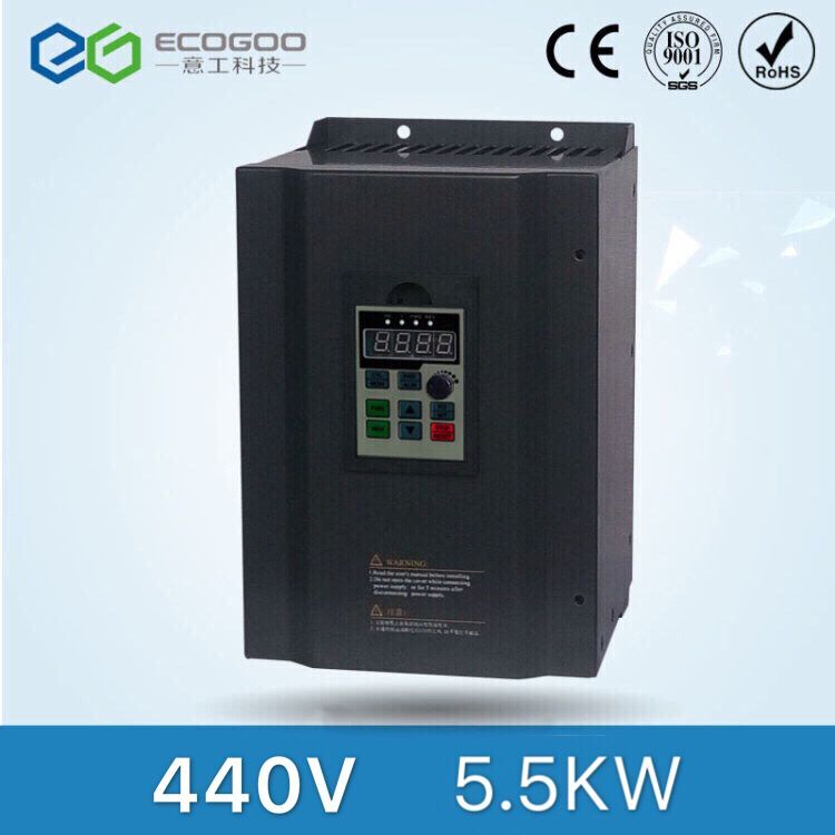 5.5kw 440V Three Phase Low Power Frequency Inverter for Air Compressor 440v 18 5kw three phase frequency inverter with high performance for air compressor