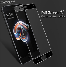 2 sztuk szkło hartowane Xiaomi Mi uwaga 3 Screen Protector dla XiaoMi uwaga 3 pełna pokrywa Xiaomi Mi uwaga 3 3D zakrzywione krawędzi Film HATOLY