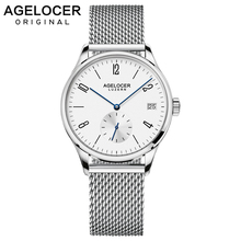 AGELOCER Brand Luxury Sapphire Steel Automatic Wrist Bracelet Fashion Women Watch Ladies Wristwatch relojes mujer montre femme
