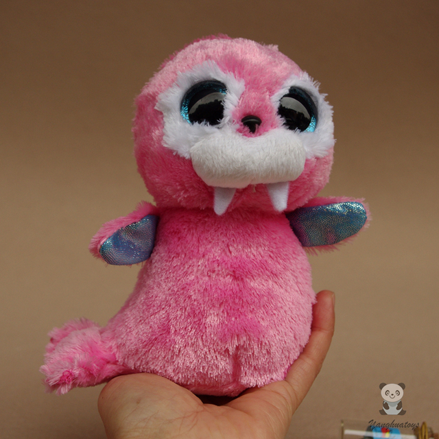 cute pink walrus doll children s toys ty plush animals toy gifts for