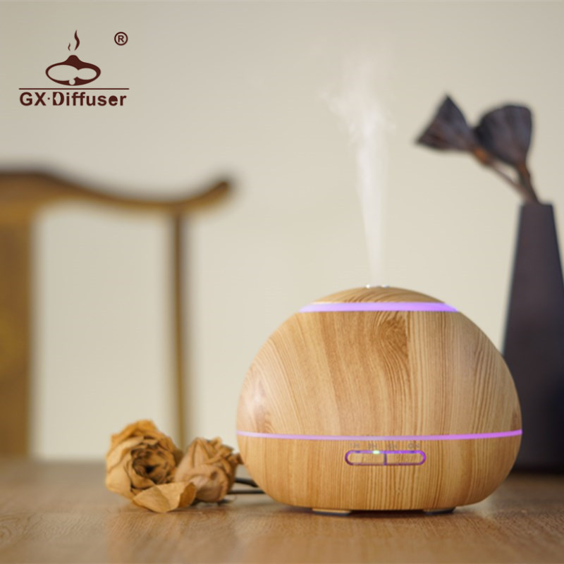 GX.Diffuser 300ml GX-17K Aroma Diffuser Aromatherapy for Office Home Air Mist Maker Ultrasonic Humidifier Essential Oil Diffuser gx diffuser gx 02k aromatherapy essential oil diffuser ultrasonic humidifier