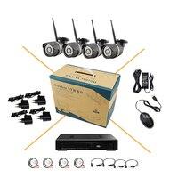 8CH NVR Network HD WIFI Audio 720P 1 0MP Surveillance Camera Onvif H 264 P2P Infrared