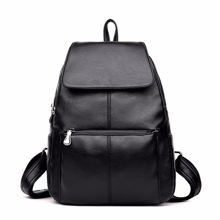 2018 Fashion Women Backpacks PU Leather School Backpacks Rucksack Shoulder Bag Female Daypack for Women