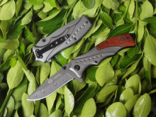 USA Camping EDC Folding Knife Pocket Knife Hunting Survival Knife 440C 58HRC Steel