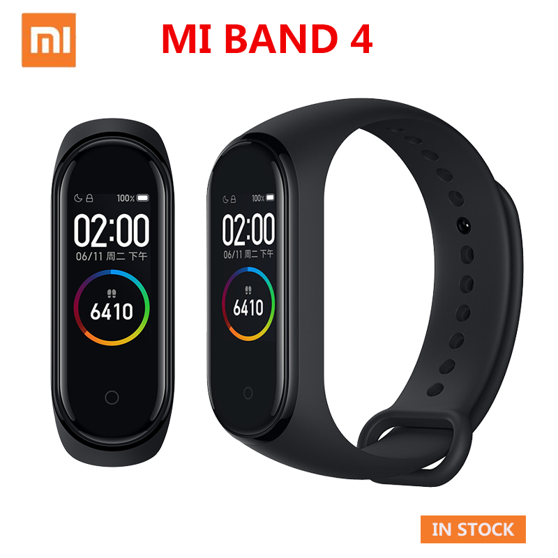 Original Xiaomi Mi Band 4 Smart Band Sport Fitness Tracker Pedometer Heart Rate Monitoring Fitbits Bracele