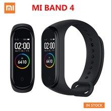 Original Xiaomi Mi Band 4 Smart Sport Fitness Tracker Pedometer Heart Rate Monitoring Fitbits Bracele for xiomi