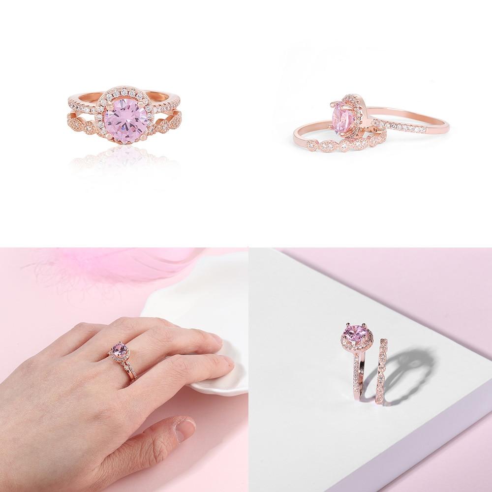 Obliging J.c Women Lady Oval Sparkling Luxury Ruby White Topaz Ring & Earring Genuine Solid 925 Standard Sterling Silver Jewelry Set Jewelry Sets Fine Jewelry
