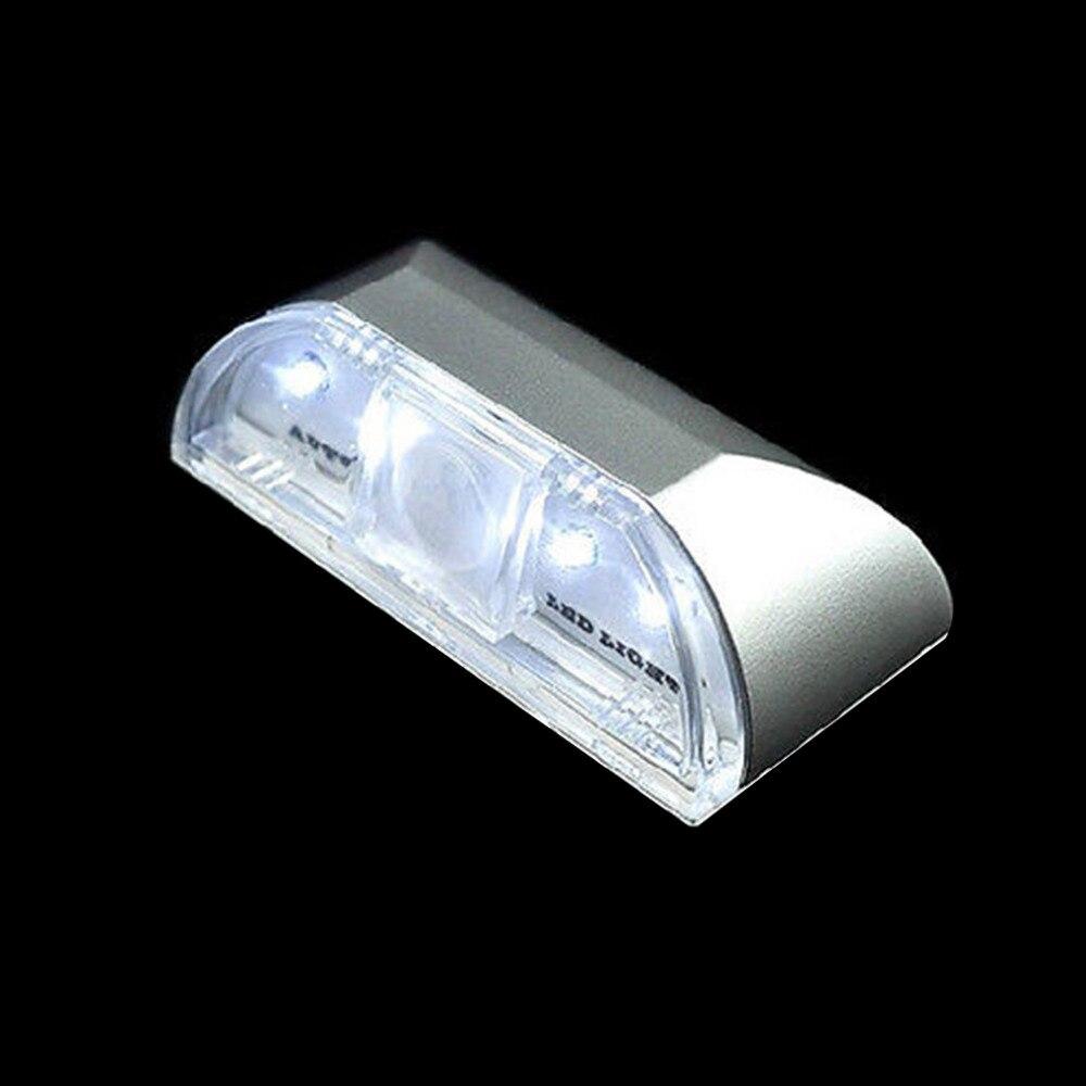 Luzes da Noite 1 pcs 4 led ir Color : Silver