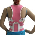 TV Hot Magnetic Posture Support Spine Stretch Shoulder Back Vest Adjustable Posture Belt