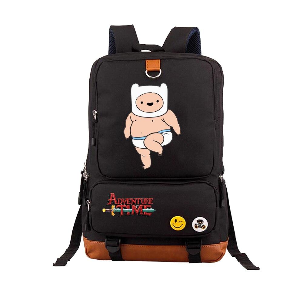 Приключения Время Финн и Джейк Рюкзак Студент Школьные сумки bookbag дорожная сумка для ноутбука сумки для подростков Повседневное рюкзак