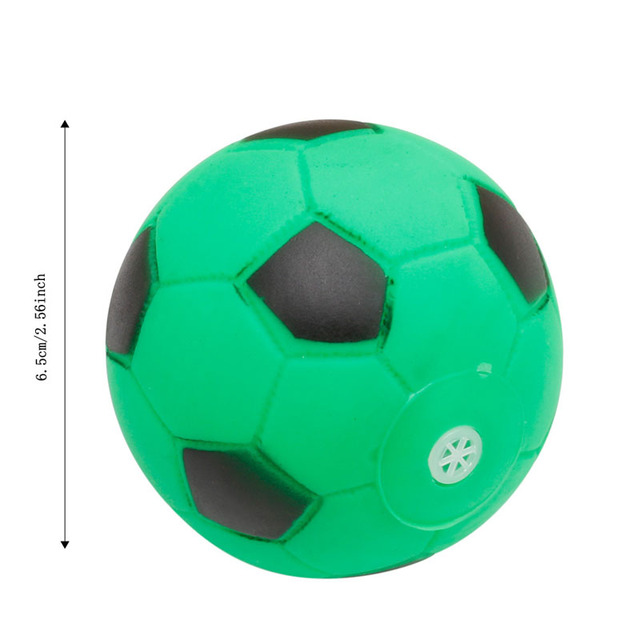 New Pet Puppy Cute Small Hollow Football Sound Treat 2