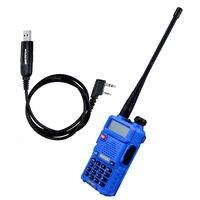 BaoFeng UV 5R Transceiver Baofeng Uv 5r VHF UHF Mini Walkie Talkie Dual Band 136 174