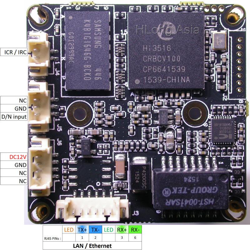 """スーパーナイトビジョンipc (1080 p) 1/2。8 """"ソニーのexmor IMX291イメージセンサ+ hi3516 cctv ipカメラモジュールボード  グループ上の セキュリティ & プロテクション からの 監視カメラ の中 2"""