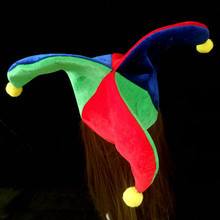 Hat Clown Circus Dress Carnival-Caps Party Triangle Women Hat-Props Decoration Fancy