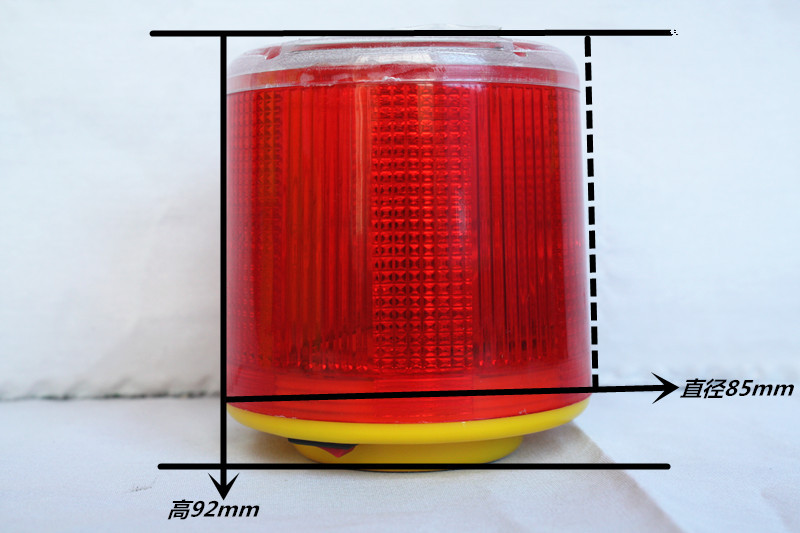 Magneticd Solar Roa Construction Safety Warning Light Warning Light LED Warning Light Strobe Alarm Lamp