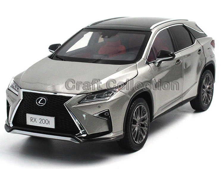 * Champagne Silver 1/18 Scale LEXUS RX200t RX 200t 2016 SUV Luxury Collection Diecast Model Car Aluminum