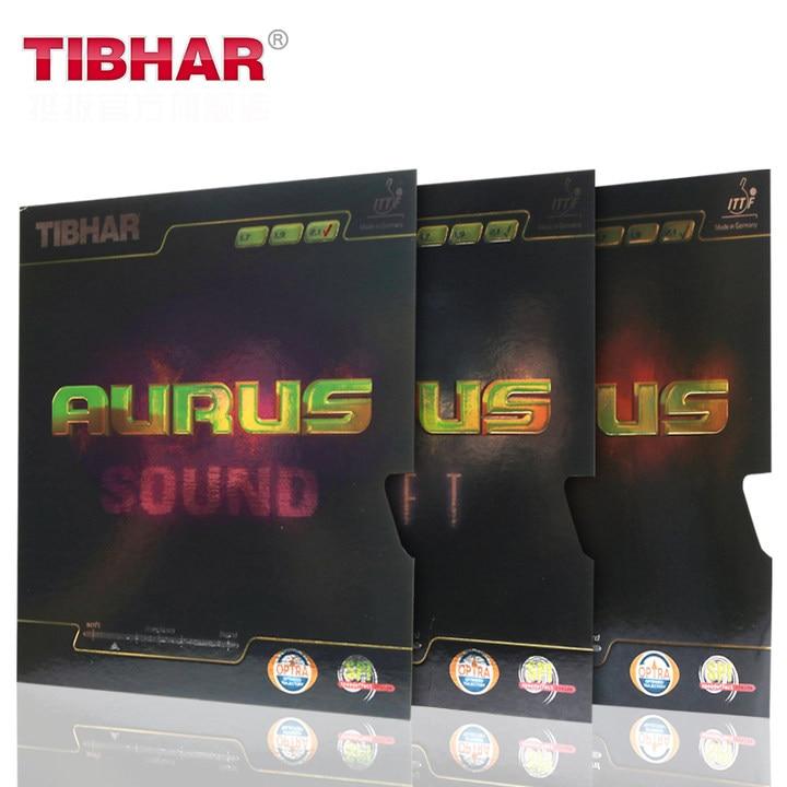 TIBHAR AURUS / SOUND / SOFT Germany Table Tennis Rubber <font><b>Ping</b></font> Pong Sponge