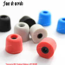 T100/T200/T400 Memory Foam Earphone Caps Cover in ear Eartips Sponge tips Ear Pads Earbuds Cups for Headset headphone Earplug 20pcs 10pairs silicone in ear earphone covers earbud bud tips headset earbuds eartips earplug ear pads cushion for earphone mp3