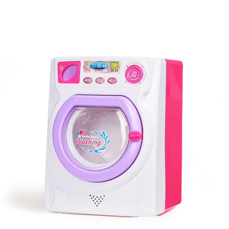 Girls Toys House Prentend Play Similation Furnitures Model Washing Machine Mini Role Play Toys for Children Kids Home Appliance home appliance