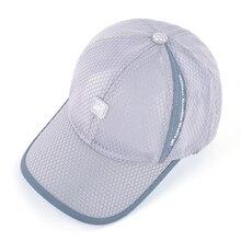 Open Mesh Breathable Baseball Cap