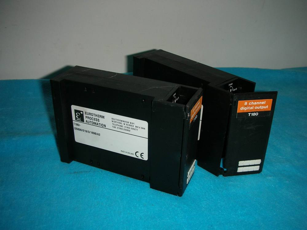 1PC USED Continental EUROTHERM T180 1pc used eurotherm t140 channel digital input 8 euro
