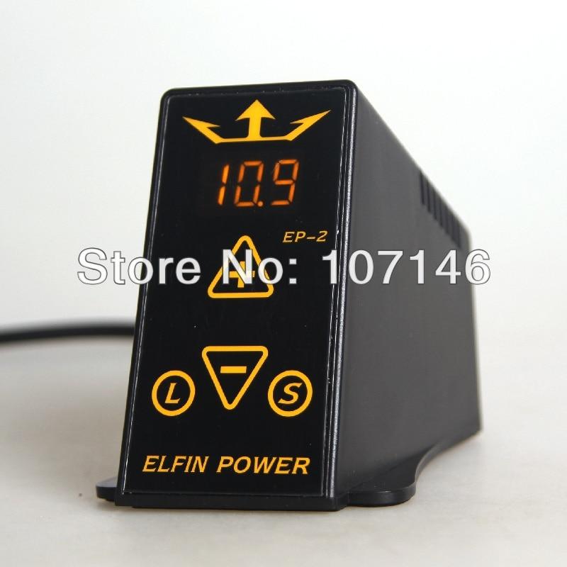 ELFIN POWER EP 2 Digital Tattoo Power Supply LCD Tattoo Power For Beauty Tattoo Art