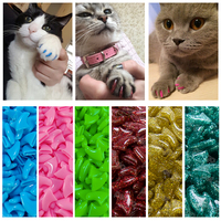 new-fashion-colorful-cat-nail-caps-soft-cat-claw-soft-paws-20-pcslot-with-free-adhesive-glue-size-xs-s-m-lgift-for-pet