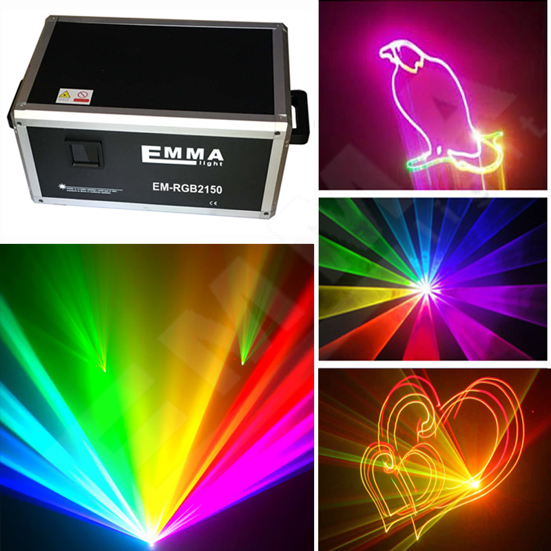 3D DIY laser projector 15000mW programmable laser lights ...