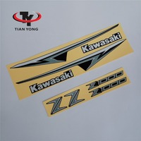 Motorcycle For Kawasaki Z1000 Z 1000 2013 Protector Racing Sticker