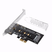 PCI-E 3.0 x4 to M.2 NVMe SSD NGFF Pcie M2 Riser Card Adapter Support PCI Express 3.0 x4 2230-2280 Size m.2 NVME(China)
