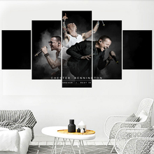 Hot Famous Singer Wall Art Pictures Home Decor Chester Bennington Canvas Painting Calligraphy Living Room HD Printed Poster