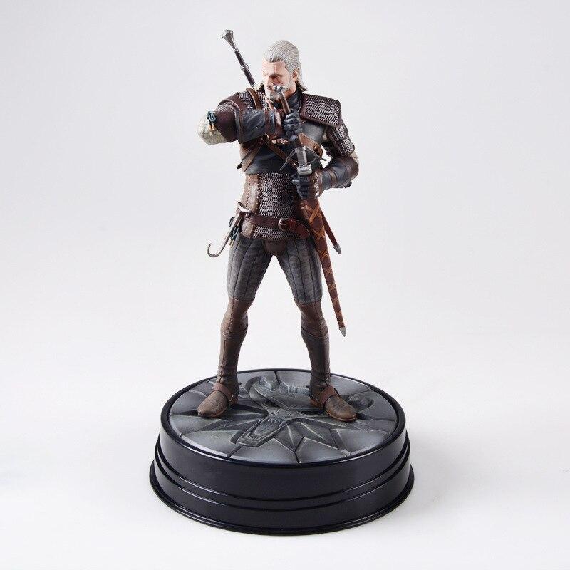 Box The Witcher 3 Figure Dark Horse Deluxe The Witcher The Witcher Figure Wild Hunt: Geralt Grandmaster Ursine Figure Model Toy