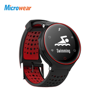 Microwear X2 Smart Wathc bracelet smart band bluetooth heart rate blood pressure message reminder Sleep Monitor android ios