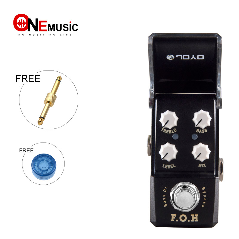 US $66 0 |JOYO JF 331 F O H BASS DI Effects Guitar Pedal F O H(BASS DI)  Pedals With Gold Pedal Connector and Mooer Knob-in Guitar Parts &  Accessories