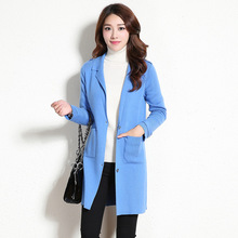 New cashmere cardigan sweater big yards womens knitting cardigan sweaters Female han edition coat ladies wool coat