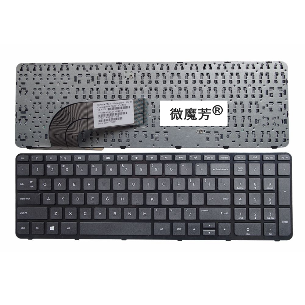 цена на English US New Laptop Keyboard for HP 15-g000 15-r000 15-g 15-r 250 G3 255 G3 256 G3 15-r007nc 15-r008nc 15-r009nc 15-r010nc