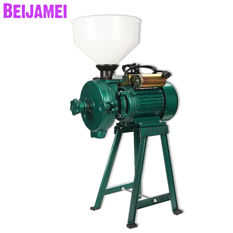 Beijamei High capacity electric wet and dry grains grinder 2500W electric corn rice peanut grinding machineBeijamei High capacity electric wet and dry grains grinder 2500W electric corn rice peanut grinding machine