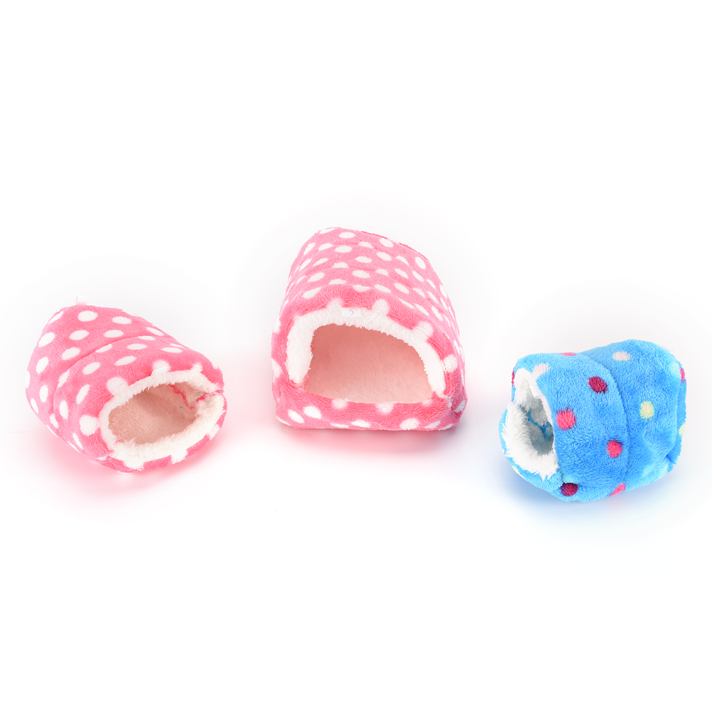 Pig/cat/dog Chinchillas Squirrel Bed Nest Hamster House Cage Accessories Mini Animals Hamster Bed Cotton Pet Nest #5