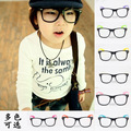 Niños venta al por mayor i-brillantes gafas remache del partido del bebé marco gafas niños y niñas infantil moda gafas capítulo libera el envío