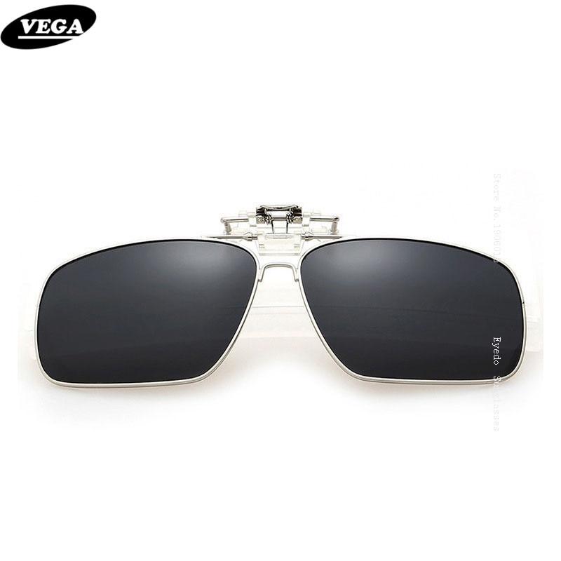VEGA Polarisées Fit Plus Lunettes Lunettes de Soleil Avec la Boîte Clip Sur lunettes de soleil Flip Up Lunettes Wrap Sur Lunettes HD Vision UV400 5-8