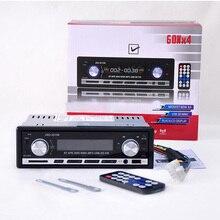 Jsd coche radio estéreo bluetooth unidad principal en el tablero reproductor de mp3/sd/usb/aux-in/fm/iphone