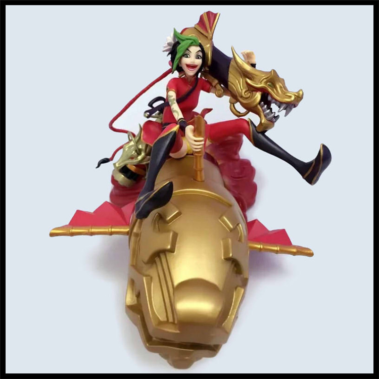17CM Anime figure jinx Newest The Jinx Dragon action figure model toy chris wormell george and the dragon