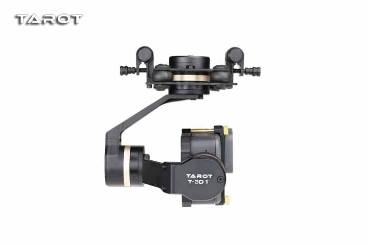 Haute qualité Tarot TL3T05 pour Gopro 3DIV métal 3 essieux sans balai cardan PTZ pour Gopro Hero 5 6 pour FPV système Action Sport caméra - 2