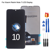 Original For Xiaomi Redmi Note 7 LCD Display Touch Screen Digitizer For Redmi Note 7 Pro Display Screen Assembly Phone Parts 6 26 original lcd for xiaomi redmi note 7 lcd display touch screen digitizer assembly for redmi note 7 pro lcd with frame