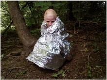 Double sided silver survival rescue blankets Emergency blanket Outdoor portable multifunctional first aid equipment